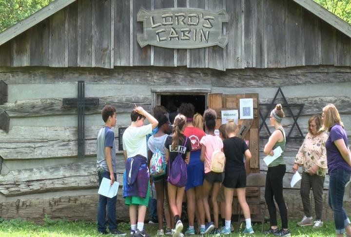 QJHS seventh graders learned about Quincy's history.