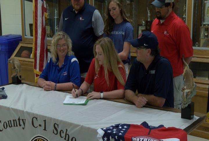 Highland's Brooke Miller is heading to Cumberland College to forge ahead in archery.