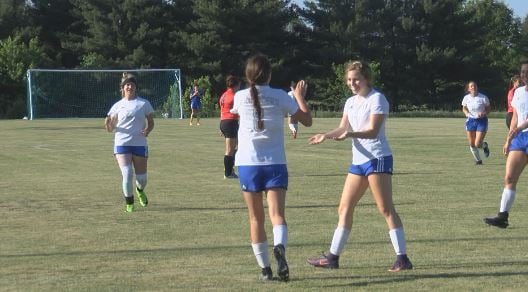 Holy Trinity used six different goal scorers and a clean sheet to blank Mediapolis in the regional semifinals.