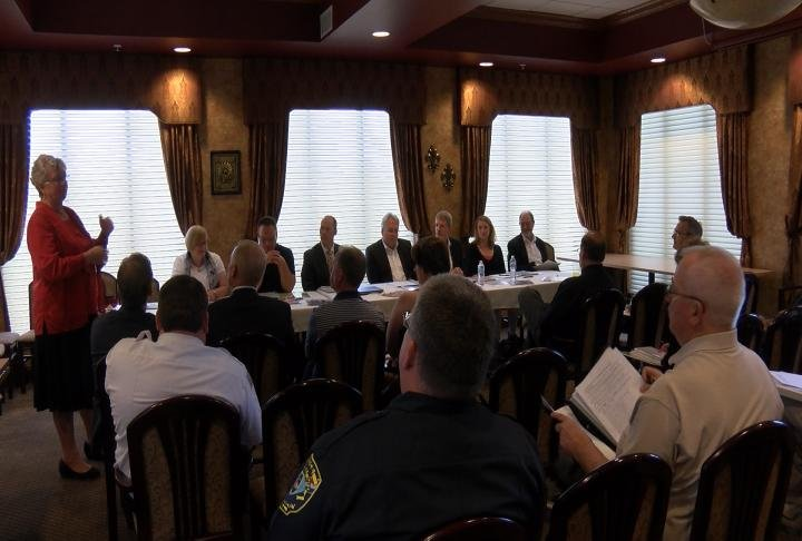 Quincy local officials meet with Sister City leaders.