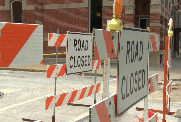 Vermont street will be closed until the end of June
