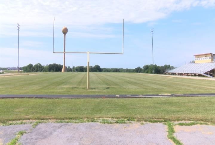 Highland will install field turf and an all-weather track with a complete date expected sometime this fall.