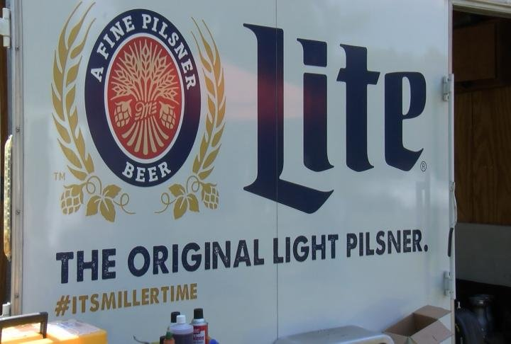 A local beer stand at a Tri-State summer festival