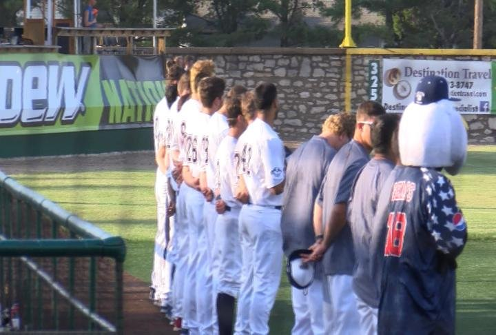 The Gems fell to the Jackrabbits 8-5 on Saturday night.