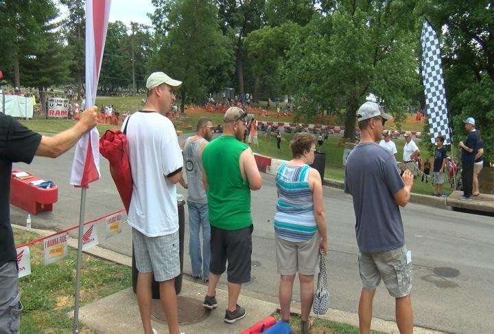 The Quincy Grand Prix brought a crowd this weekend.