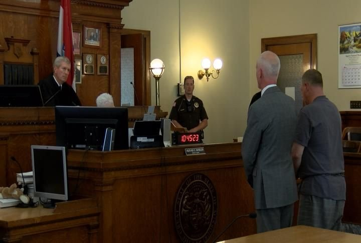 James Addie in court May 1st