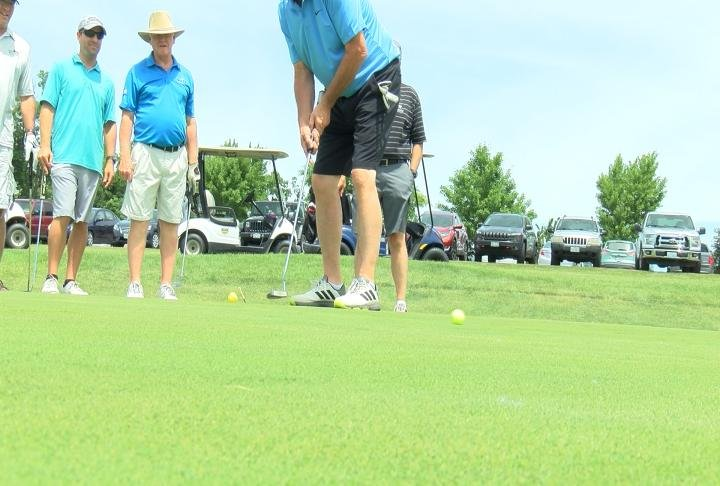 Over 50 teams participated in the golf outing