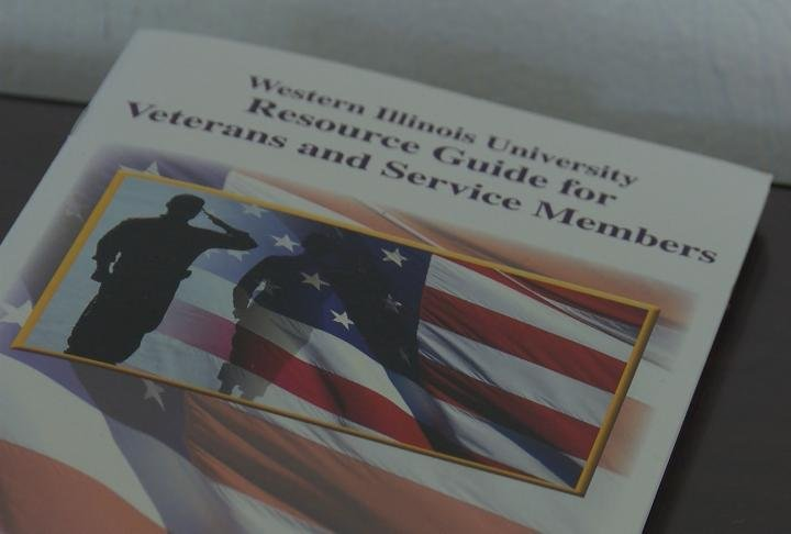 A pamphlet with information on WIU's military program.