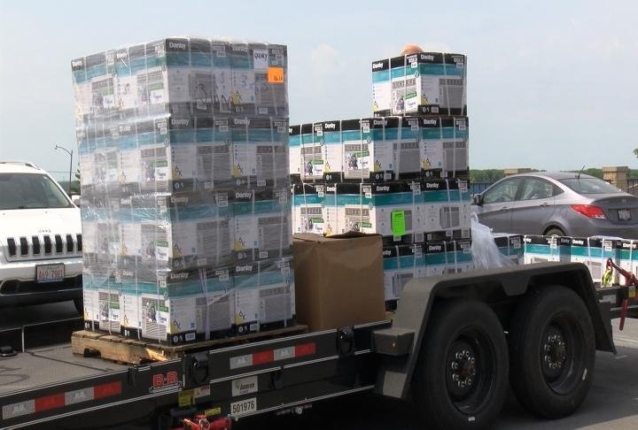 Ameren Illinois donated 50 air conditioning units to Two Rivers Regional Council.