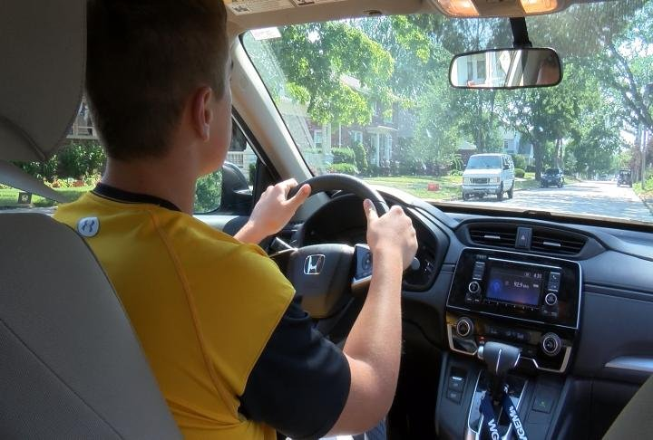 Jack Marth, 16, has to wait just a couple more months before he gets his license.