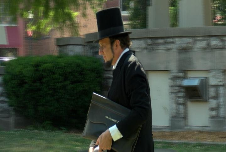 Abraham Lincoln in the District