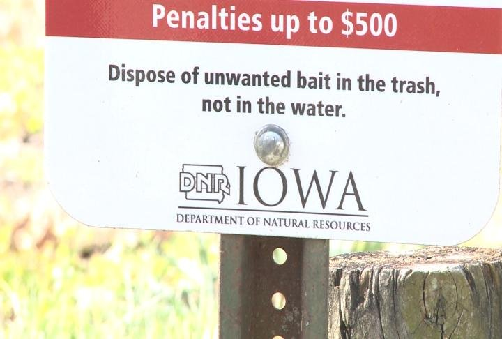 Iowa DNR is pleased with the progress.