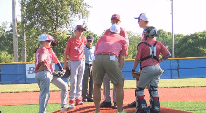Adams County Little League Opens Tournament With A Win