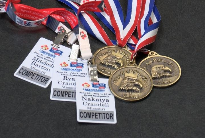 CanAm game gold medals