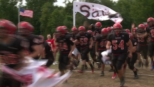 The P-GP Saukees cruised to a 67-7 win over Bunker Hill on Saturday.