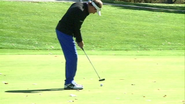 Quincy HIgh's Zach Burry finished second as an individual at Monday's Pekin Sectional and helped the Blue Devils earn a spot in the state tournament field.