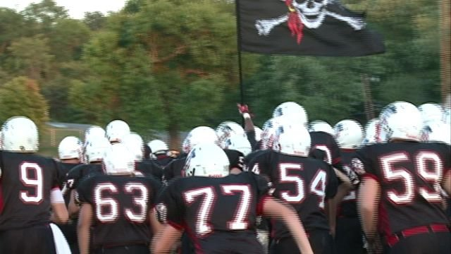 The Hannibal Pirates will take the field in Jefferson City on Saturday with a chance to complete an undefeated regular season.