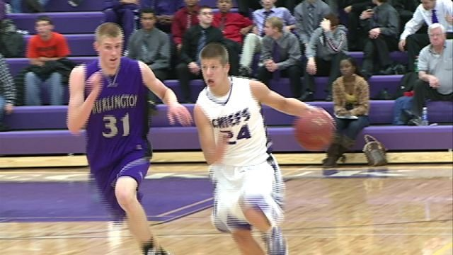 Jonny Dahl had a team high 22 points in leading Keokuk to a 57-48 win over visiting Burlington on Tuesday night.