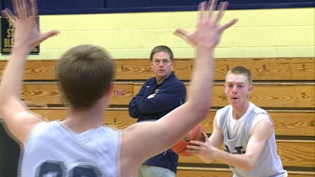 QND head coach Scott Douglas says this year's crop of seniors hold a special place in his heart, especially his son Sam.