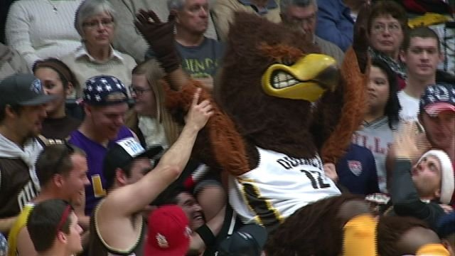 The QU Hawks held on for a 78-75 win in OT against Illinois-Springfield on Saturday at Pepsi Arena.