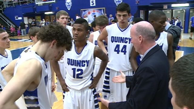 Quincy High has a shot to hit the mid-point of the WB6 season with a 5-0 record if they can knock off No. 7 Rock Island.
