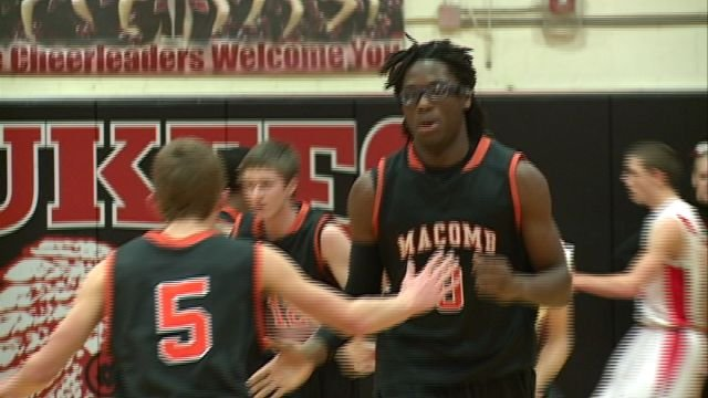 Macomb knocked off Pittsfield on the road 47-42 behind 15 points from Dontrex Williams.