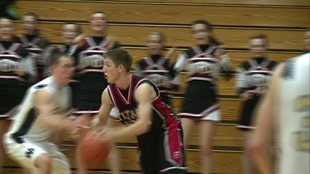 Paxton Harmon led all scores with 20 points as West Hancock gained revenge on QND winning 45-39 at The Pit on Friday night.