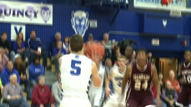 Martin Kvitle and QHS topped Champaign Central 60-49 on Saturday.