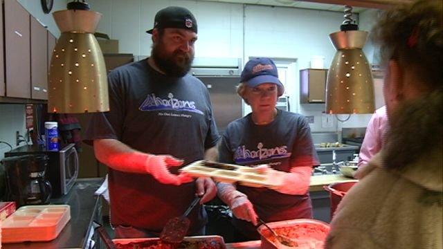 Jack Cornell spent his Thursday at the Horizons Soup Kitchen to continue his fight against hunger in Adams County.