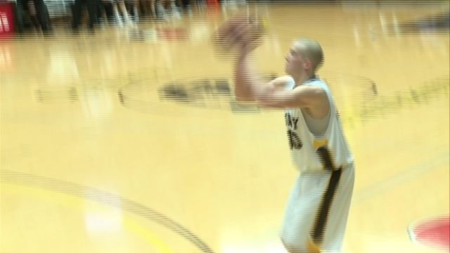Dalton Hoover scored a career high 21 points in the Hawks 71-66 win over Missouri S&T on Saturday.