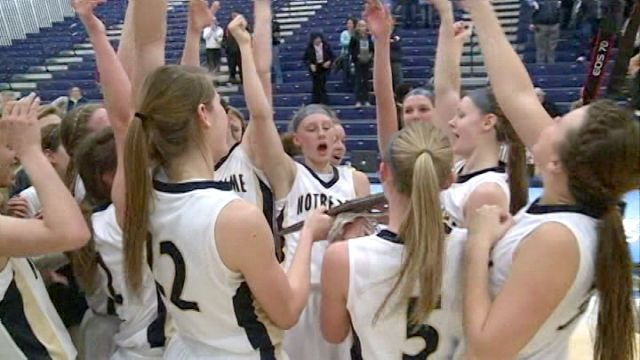 QND beat Breese Mater Dei 56-30 on Monday night in the Class 3A Springfield Super-Sectional to clinch its fourth straight Final Four berth.
