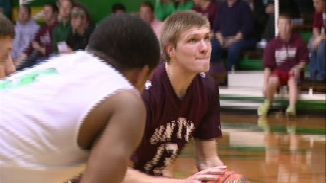 Andrew Doyle's near triple-double helped lift Unity to a 65-54 win over Wethersfield in Thursday's sectional semifinals.