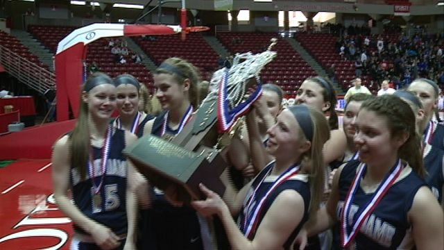 The QND Lady Raiders beat Vernon Hills 62-45 on Saturday to claim the Class 3A state title.