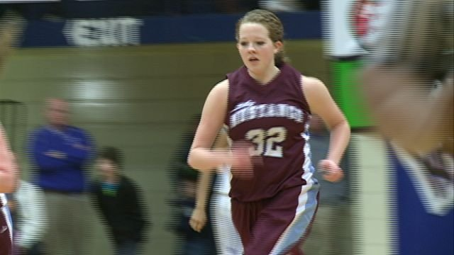 Unity's Breanne Begeman earned more than 2,700 votes to win the 2013 People's Choice Award for Player of the Year.
