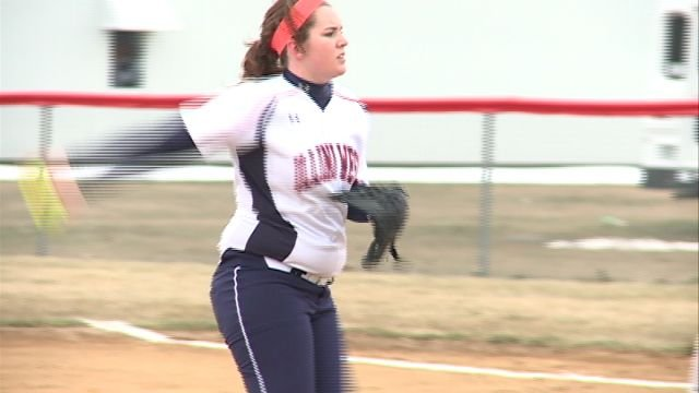 Mackenzie Herreman grabbed a win in the Chargers match-up with Liberty, including 10 strike outs.