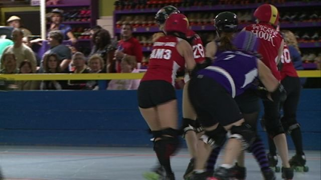 The Quincy Dark River Derby Coalition kicked off its third season on Saturday night at Scotties Fun Spot.