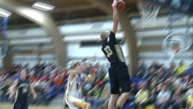 QND's Alex Fitch plans to try out for the SLU basketball team after being swayed by Billikens head coach Jim Crews.