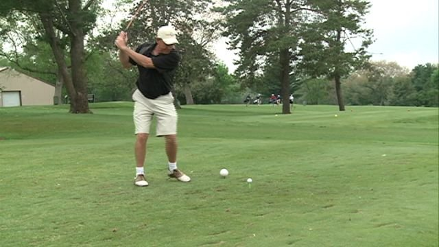 Local golfers teed it up Friday at Quincy's Westview Golf Course for the first ever Scotty Tournament.