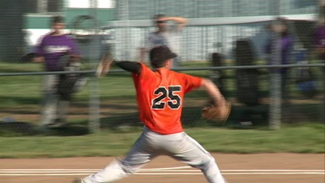 Holden Hudson and the Palmyra baseball team had their season come to an end in Tuesday's 9-0 sectional setback to Hallsville.