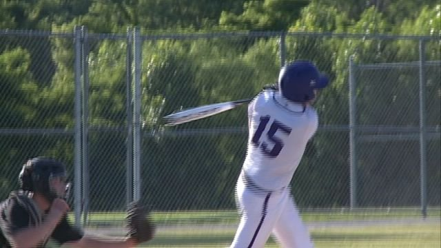 Brant Ames had three hits and two RBI's to lead Keokuk past Fairfield 2-1 in game one of the twin bill Thursday at Joyce Park.