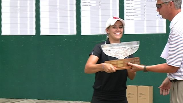 Rachel Powers collected her fourth consecutive Quincy Women's City Golf Championship trophy on Sunday.