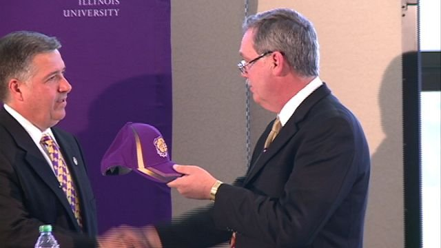 Tommy Bell was introduced as the next Athletic Director of Western Illinois University on Monday.