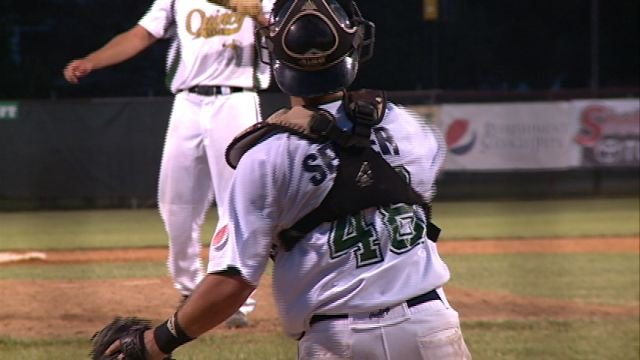 Steven Seiter has helped add depth to the catcher position for Chris Martin and the Gems.