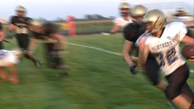 The Central Panthers held their scrimmage on Saturday night in Camp Point.