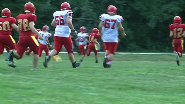 Several teams in Northeast Missouri hit the gridiron at the Paris Jamboree on Saturday night.