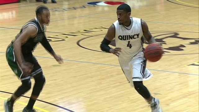 Chris Babbitt scored a career high 31 points on Saturday pacing Quincy to a 93-77 victory over Missouri S&T.