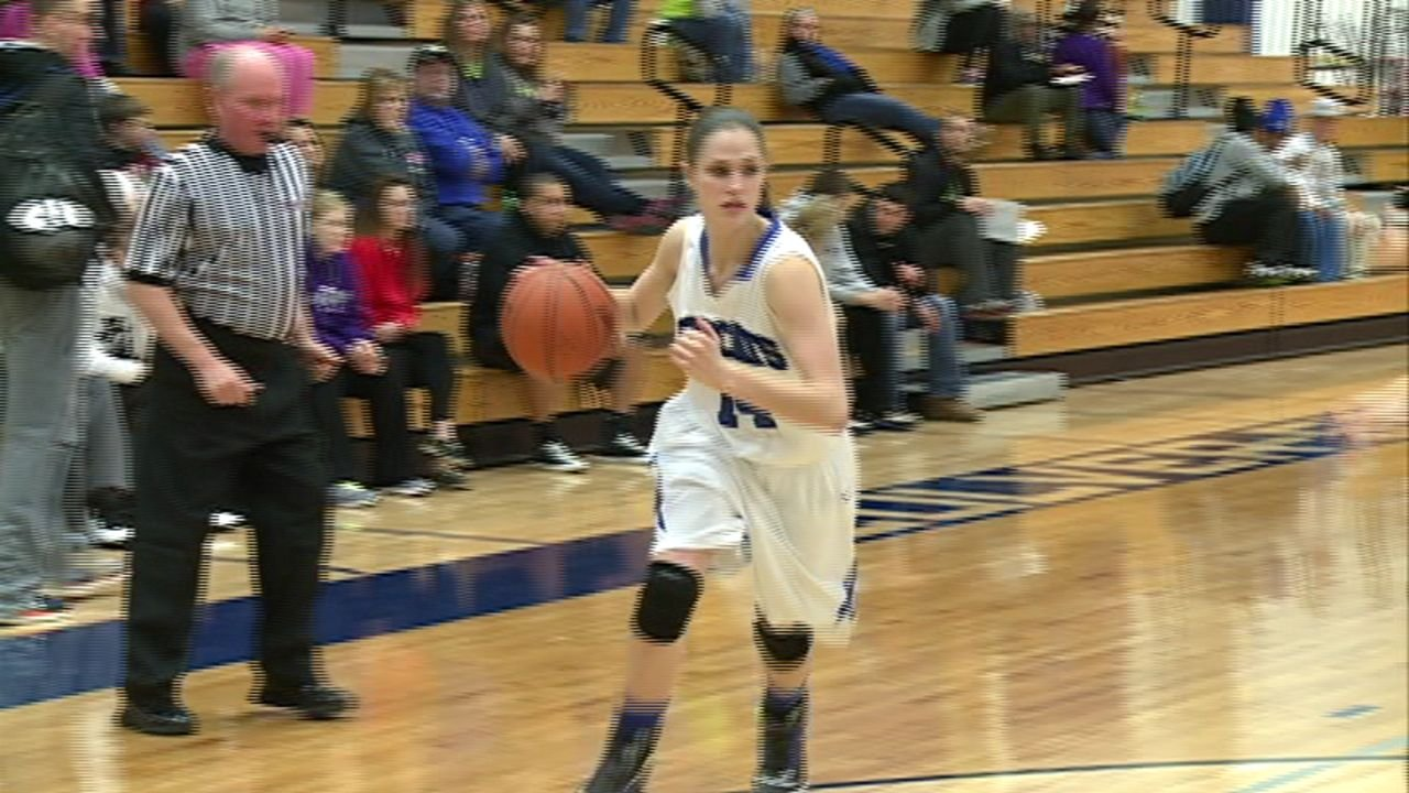 Randi Lee Plunkett and the Culver-Stockton women's basketball team pulled off the biggest upset in area college basketball with a 69-68 win over No. 4 MidAmerica Nazarene.
