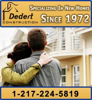 Dedert Construction - Sponsorship Ad