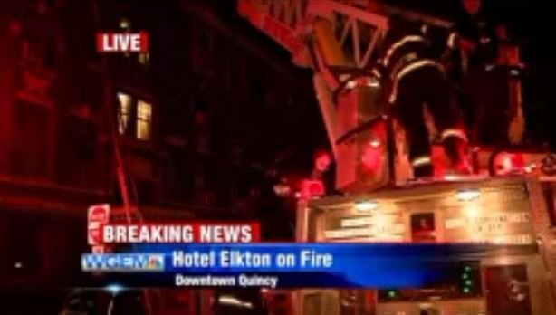 Firefighters rescue building occupants