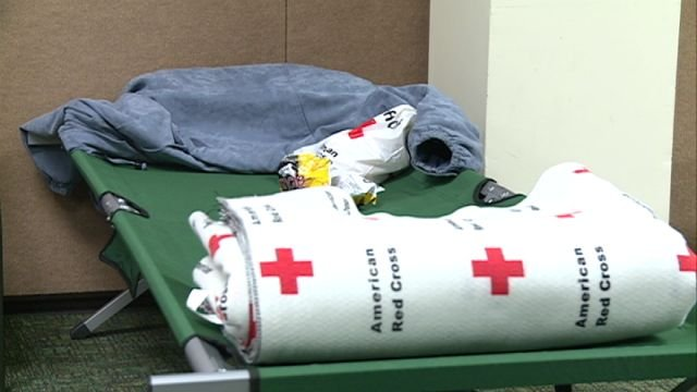 The Red Cross shelter will close Saturday.